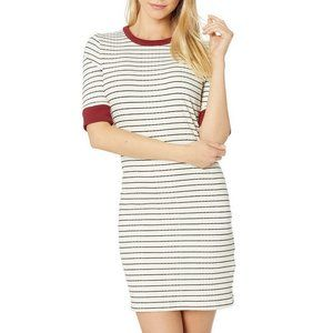 NWT Joie Striped T-shirt Half-sleeve Dress